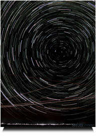 Star Trails over Wiggins